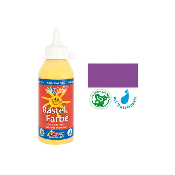 SALE MUCKI Bastelfarbe Violett 250 ml