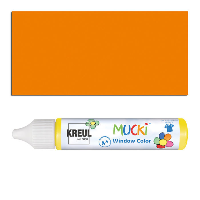 Mucki Windowcolor-Pen 29ml Orange