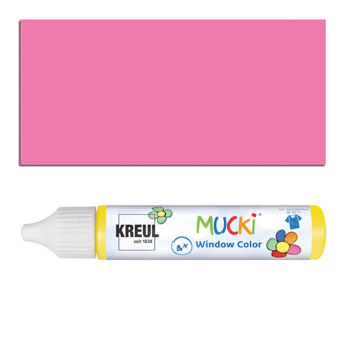 Mucki Windowcolor-Pen 29ml Rosa