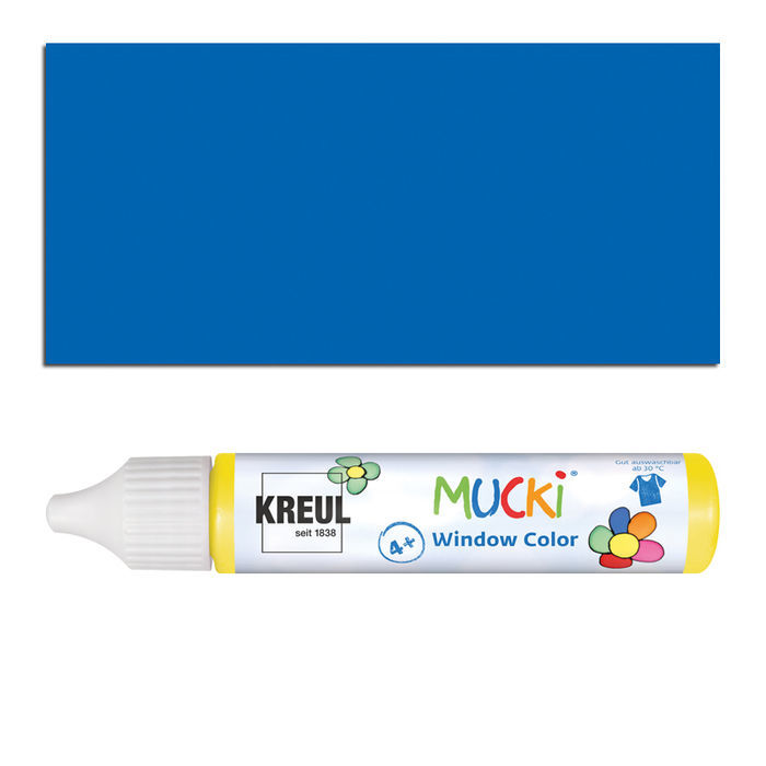 Mucki Windowcolor-Pen 29ml Dunkelblau