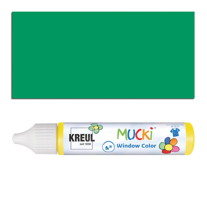 Mucki Windowcolor-Pen 29ml Dunkelgrün