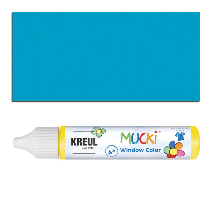 Mucki Windowcolor-Pen 29ml Türkis