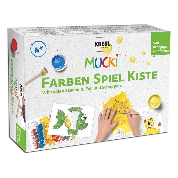 MUCKI Fingerfarbe-Set Farben-Spiel-Kiste - KREUL MUCKI Farben Spiel ...