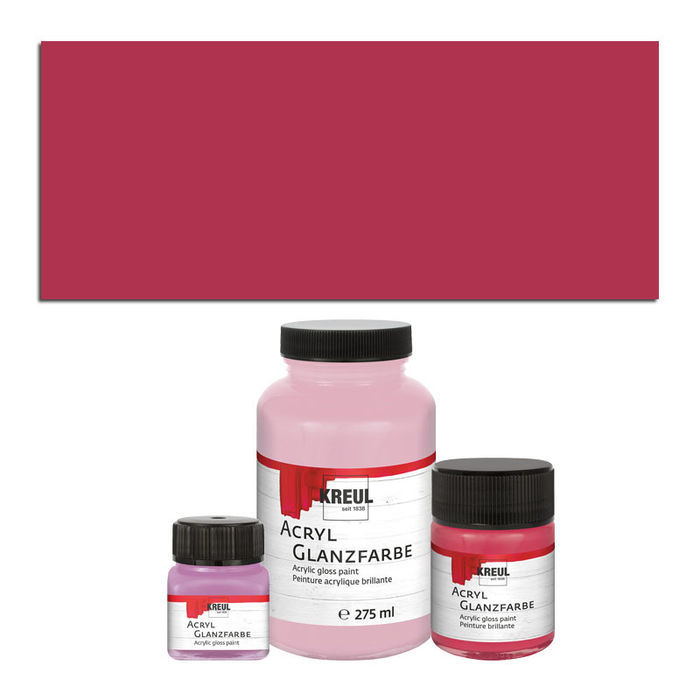 Hobby Line Acryl-Glanzlack, 50ml, Bordeaux