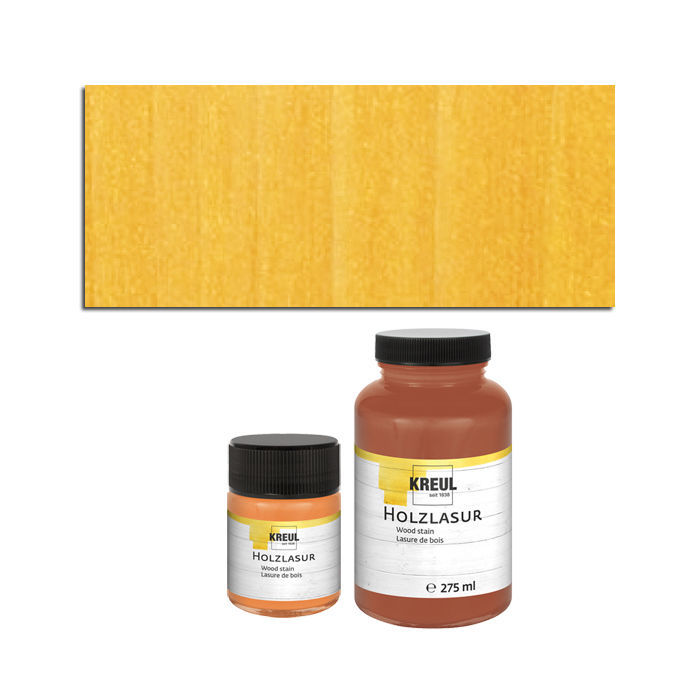 SALE Hobby Line Holz-Lasurfarbe 50ml Gold