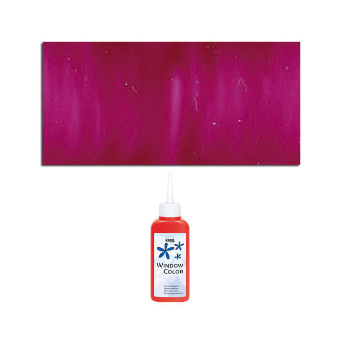 Glas-Design Window-Color-Malfarbe 80ml, Magenta