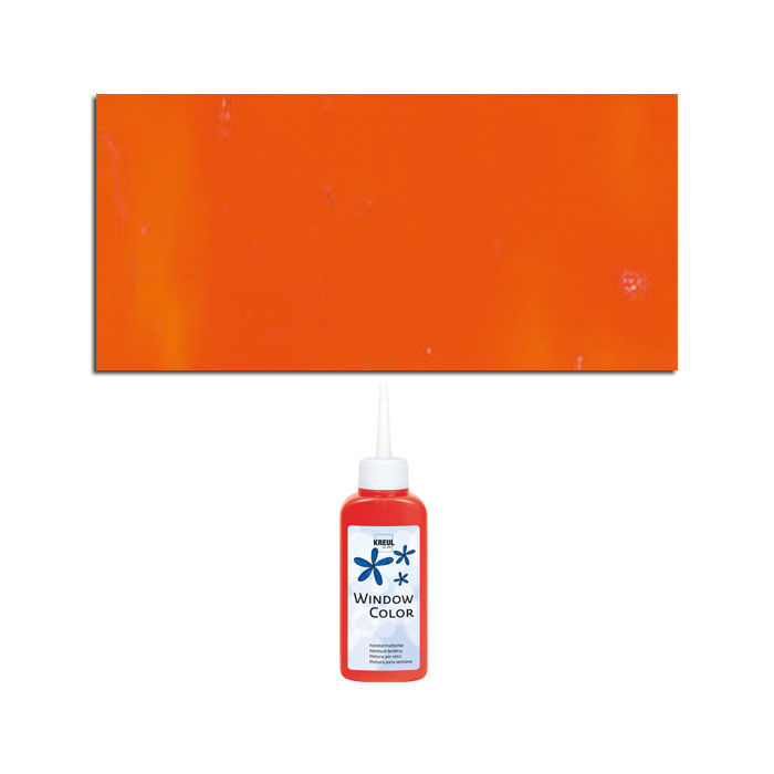 Glas-Design Window-Color-Malfarbe 80ml, Orange