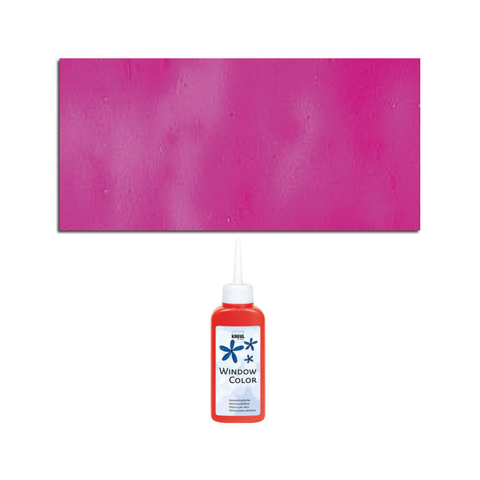 Glas-Design Window-Color-Malfarbe 80ml, Pink