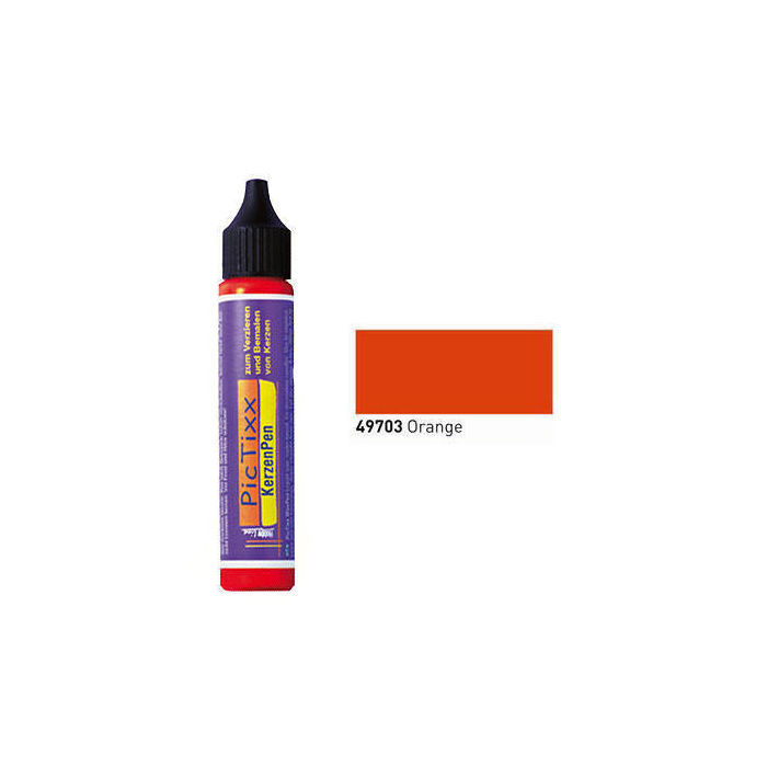 PicTixx KerzenPen, 29ml, Orange