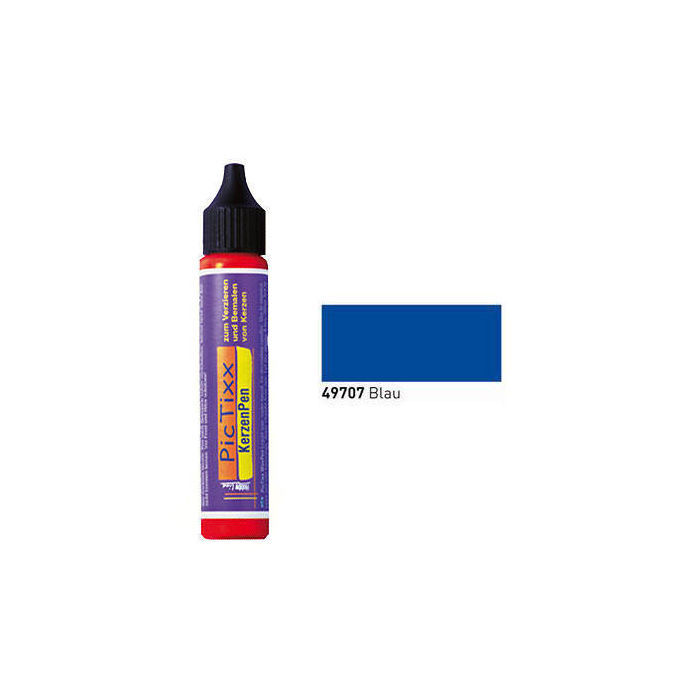 PicTixx KerzenPen, 29ml, Blau