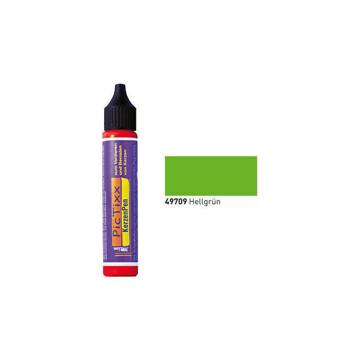 PicTixx KerzenPen, 29ml, Hellgrün