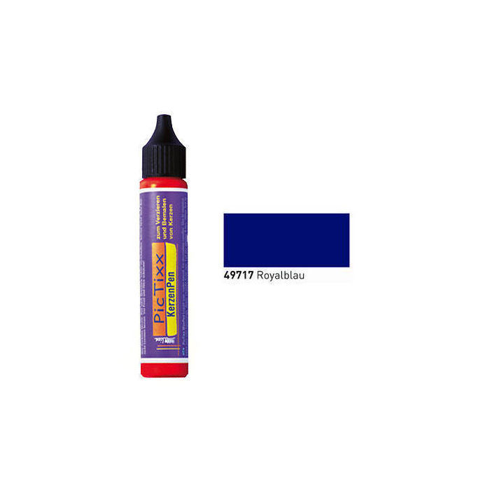 PicTixx KerzenPen, 29ml, Royalblau