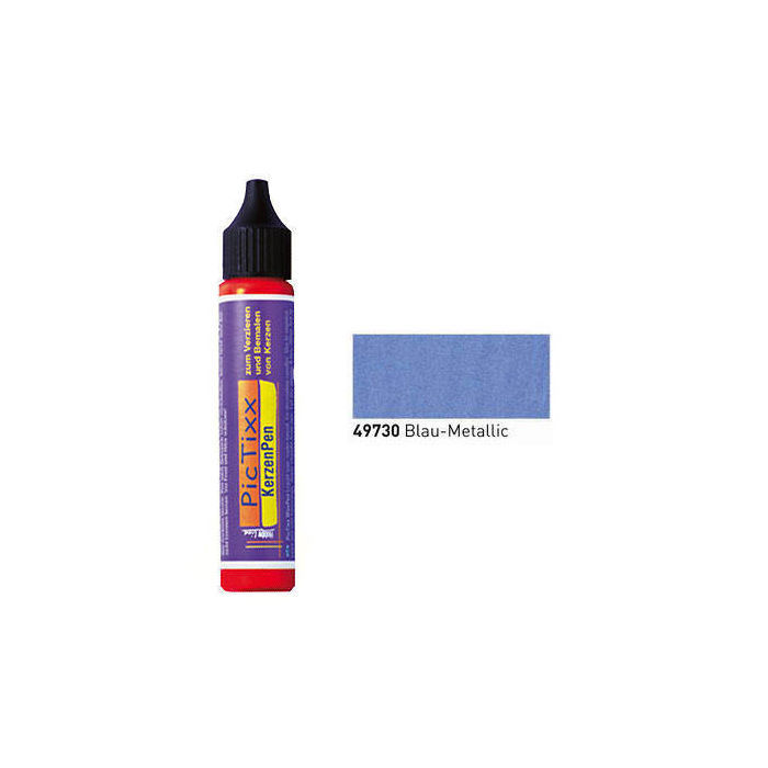 PicTixx KerzenPen, 29ml, Blau Metallic
