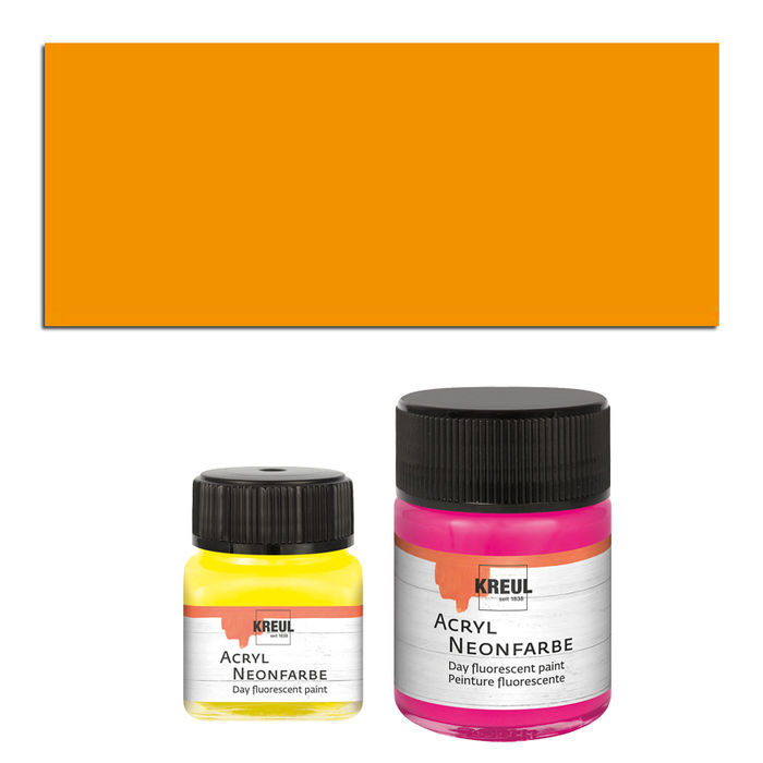 Kreul Neon-Acrylfarbe 20ml Orange