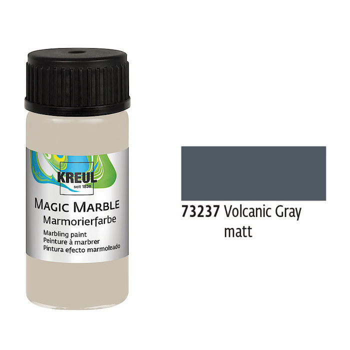 Magic Marble, Volcanic Gray matt, 20ml