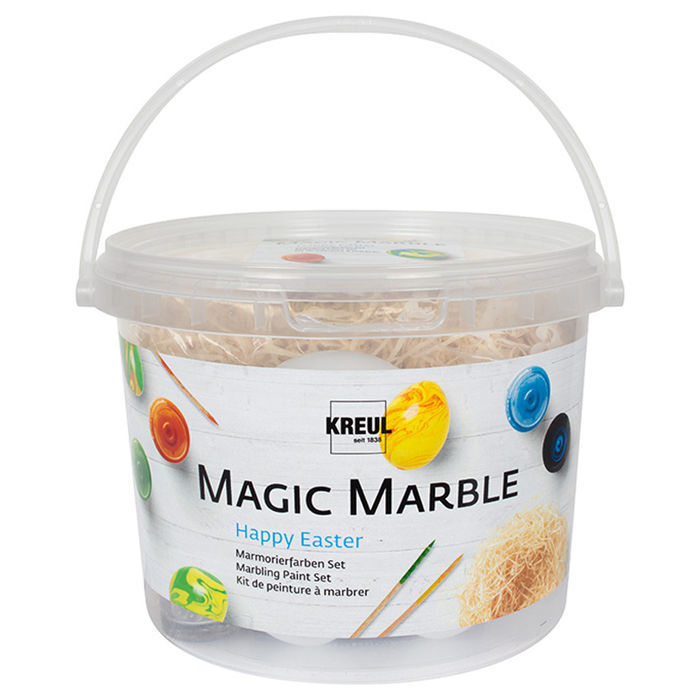 Kreul Magic Marble Marmorierfarben-Set Ostern