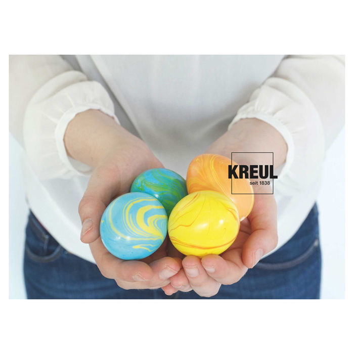 Kreul Magic Marble Marmorierfarben-Set Ostern Bild 2