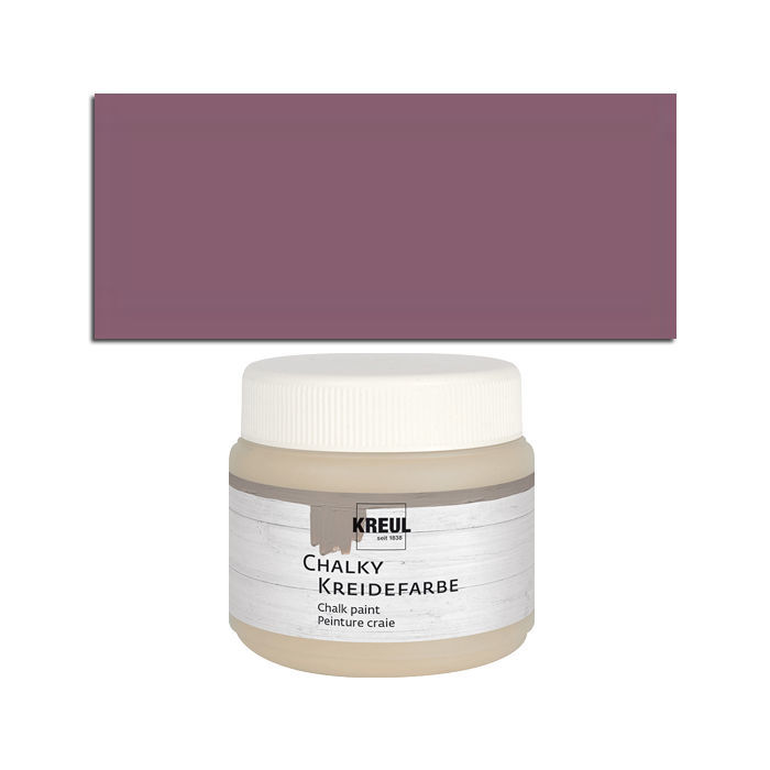 Kreul Chalky Kreidefarbe 150ml Pure Purple