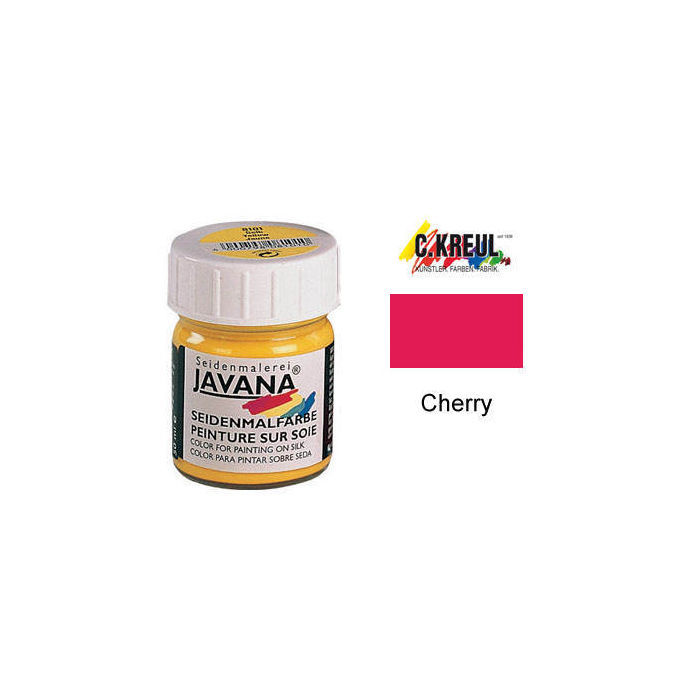 Javana Seidenmalfarbe 50ml Cherry