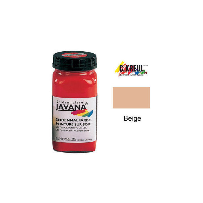 SALE Javana Seidenmalfarbe 1000ml Beige