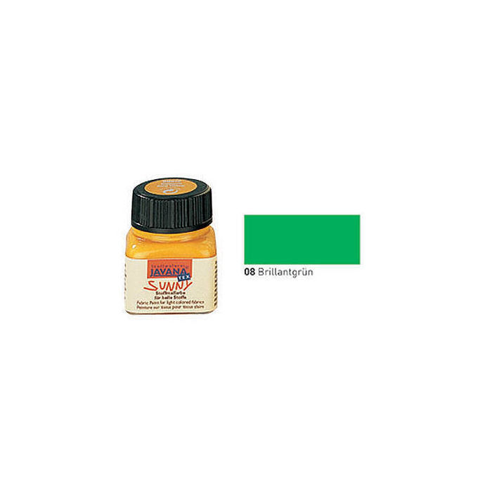 Javana Tex SUNNY Stoffmalfarbe, 20ml, Brillantgrün