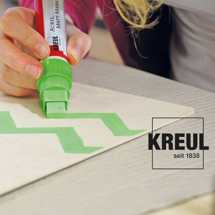 Kreul Acryl Marker Matt Medium 2-4mm Magenta Bild 2