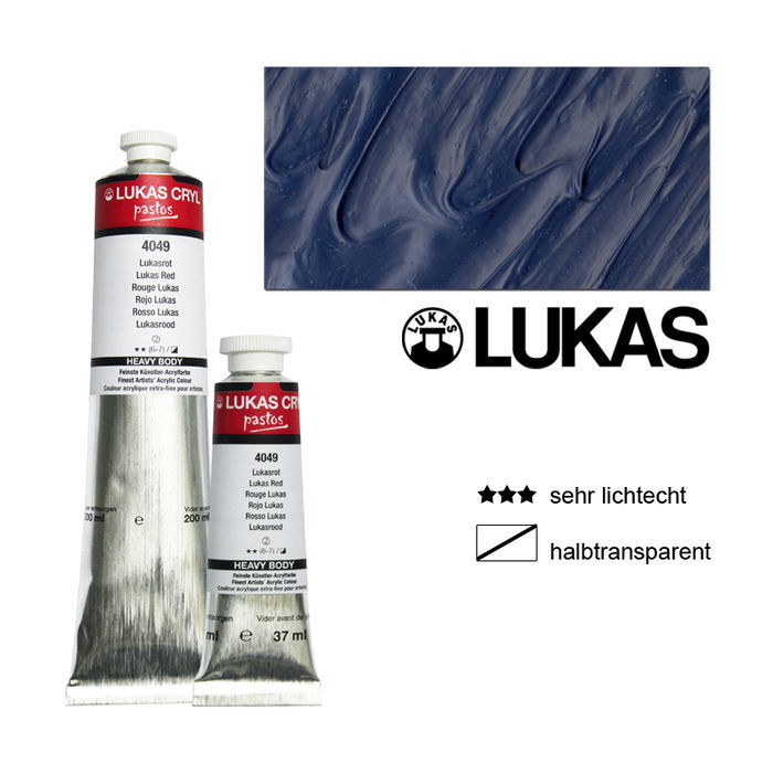 SALE Lukas CrylPastosAcrylmalf.200ml,Phthalotürkis