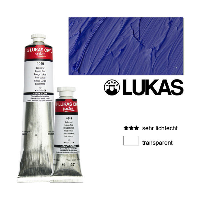 SALE Lukas CrylPastosAcryf.200ml,Ultramarindunkel