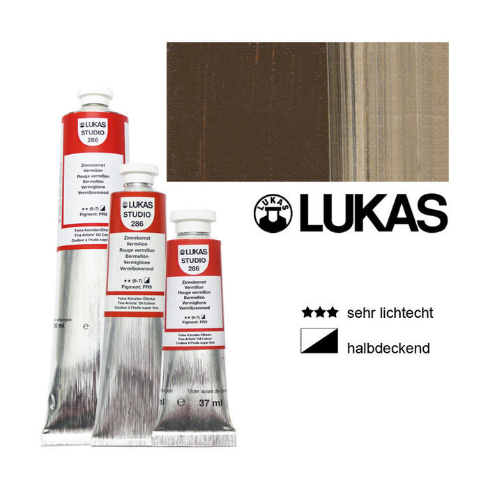 Lukas Studio Ölmalfarbe 200ml Umbra natur