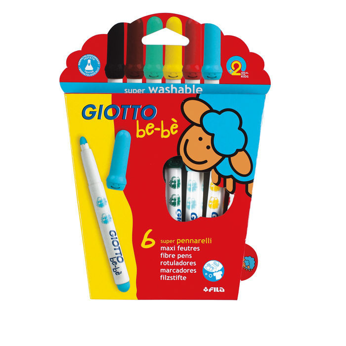 Lyra Giotto be-bé Super Fibre Pens 6 Stk.