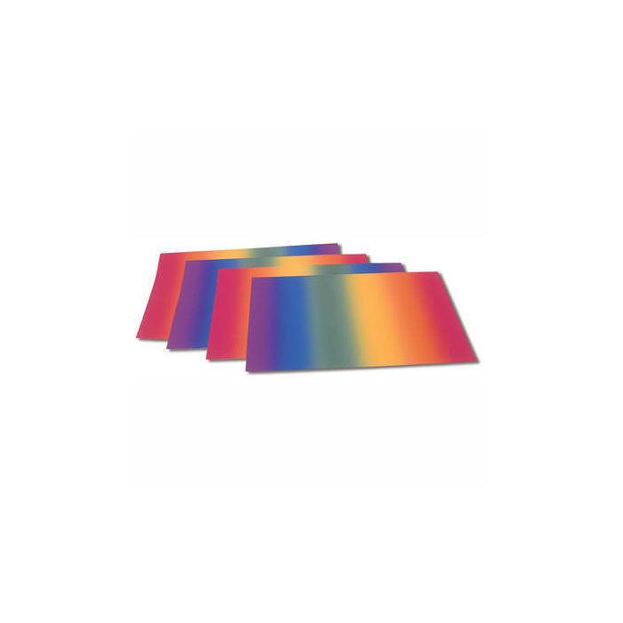 Regenbogen Transparentpapier 50 X 60 Cm 10 Bogen Papier