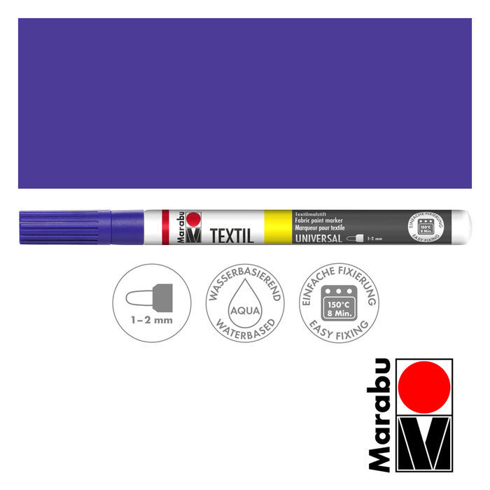 Marabu Textil Painter violett 1-2 mm