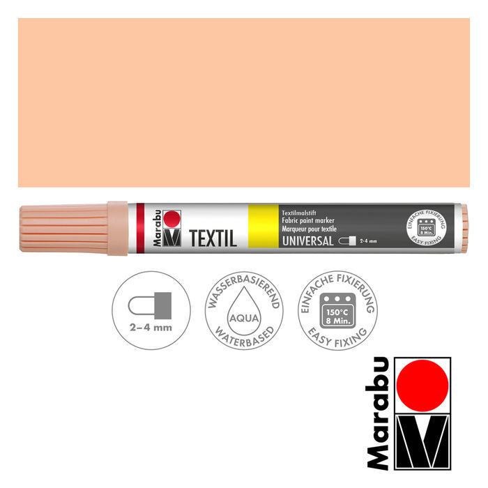 Marabu Textil Painter rosé beige 2-4 mm