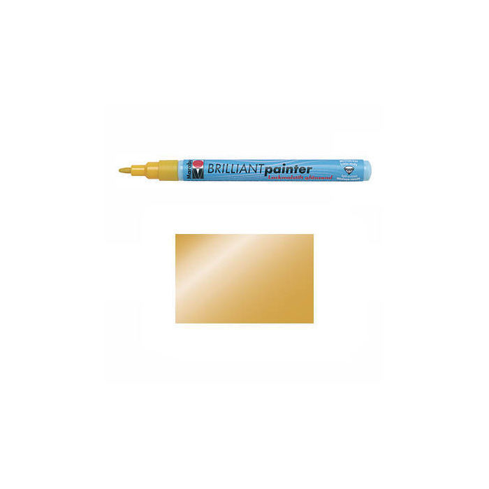 Marabu Brilliant Painter gold, Spitze 1-2mm