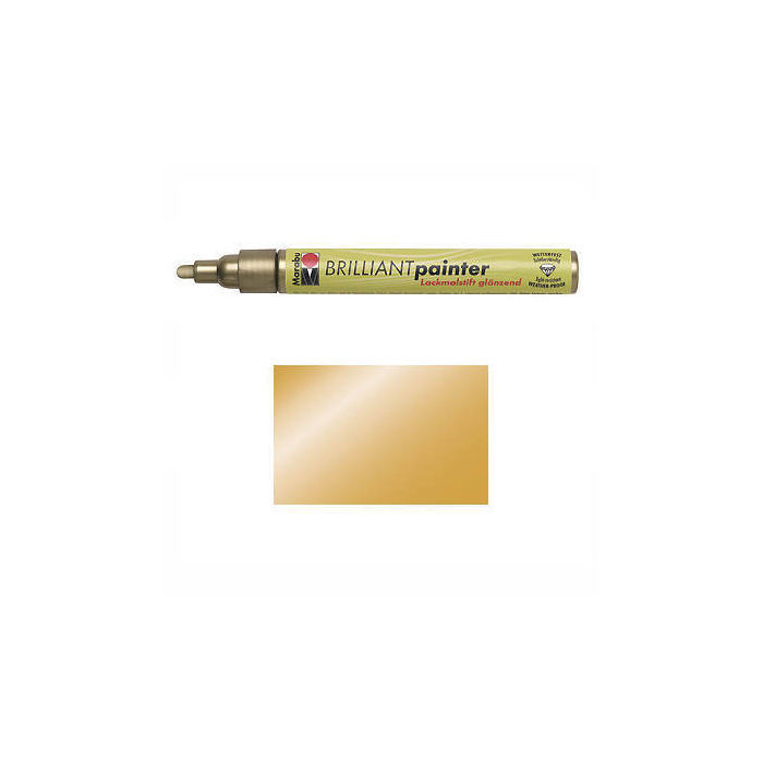 Marabu Brilliant Painter gold, Spitze 2-4mm