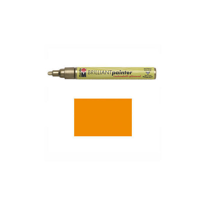 Marabu Brilliant Painter mandarine, Spitze 2-4mm