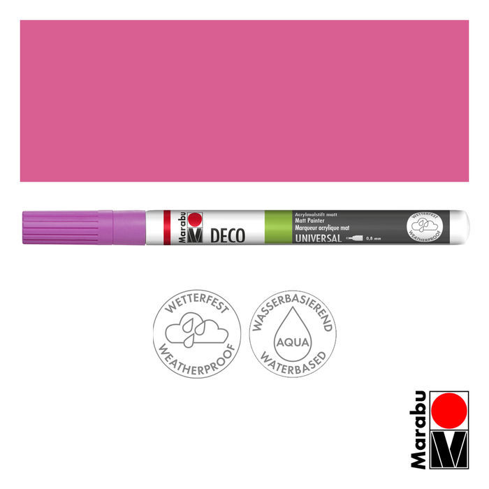 Marabu-Deco Painter 033, 0,8 mm, Rosa