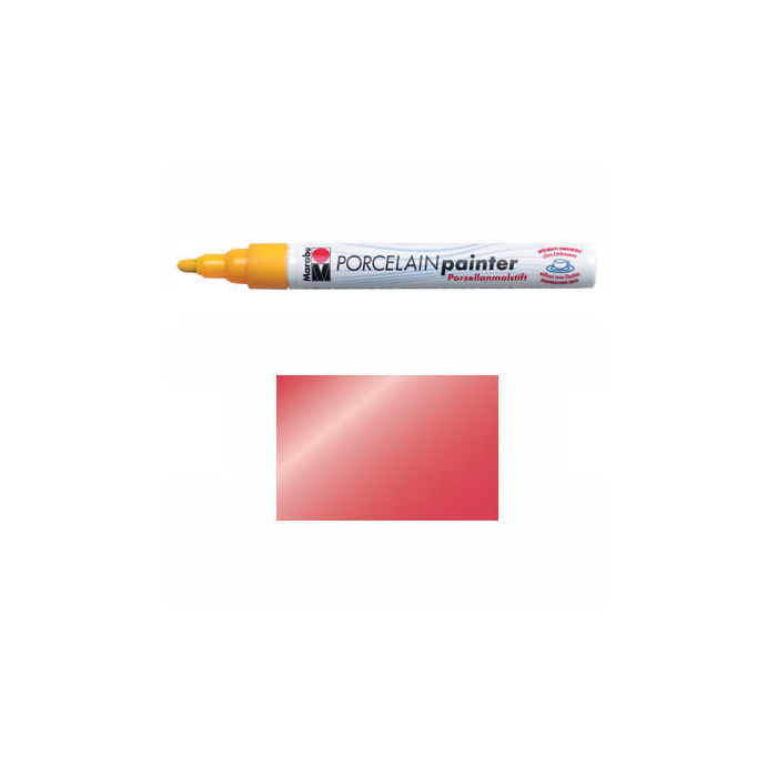 SALE Marabu Porcelain Painter metallic-rot, 1-2mm