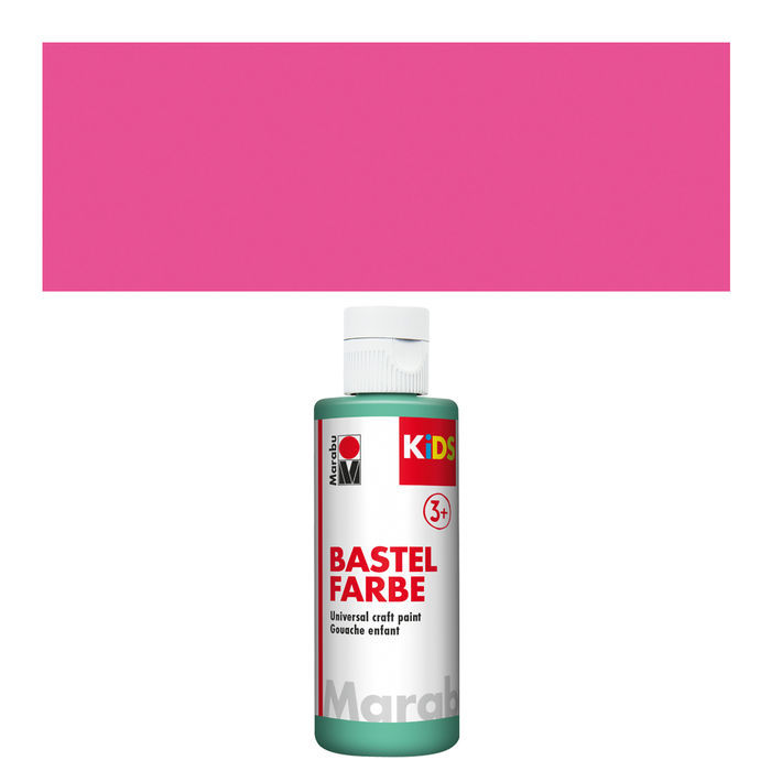 Marabu Kids Bastelfarbe, 80ml, Magenta