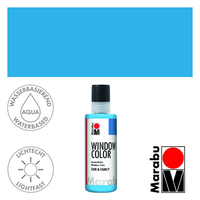 Marabu Fun & Fancy 80ml Hellblau