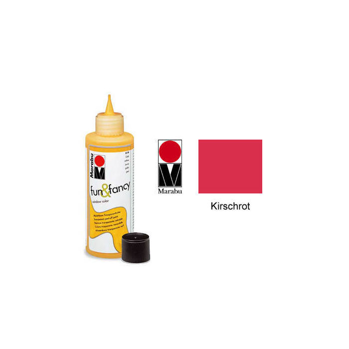 Marabu Fun & Fancy 80ml Kirschrot