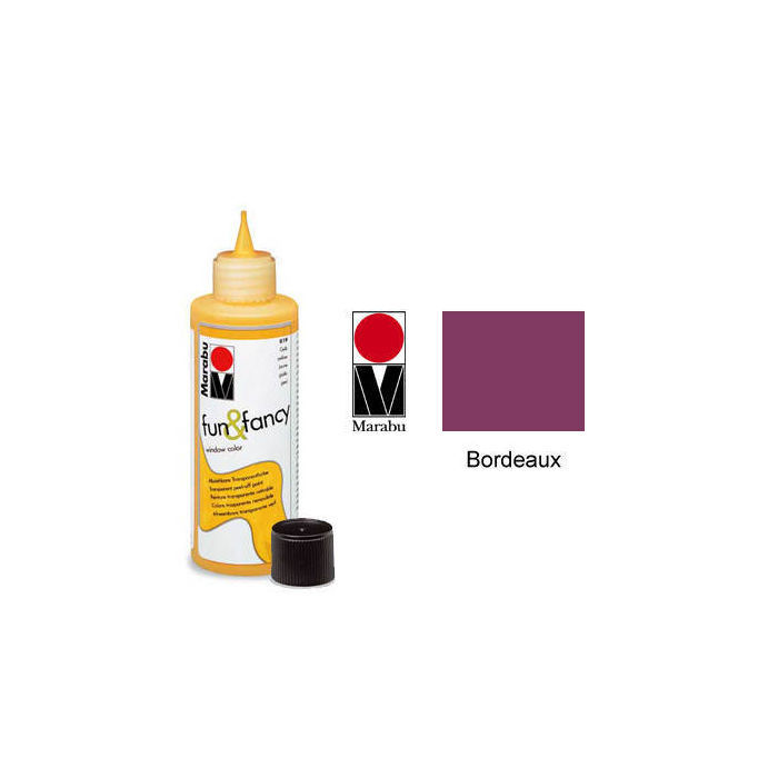 Marabu Fun & Fancy 80ml Bordeaux