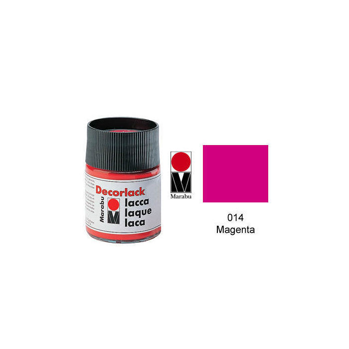 Marabu Decorlack 15ml Magenta