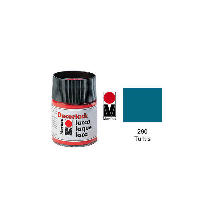 Marabu Decorlack 15ml Türkis