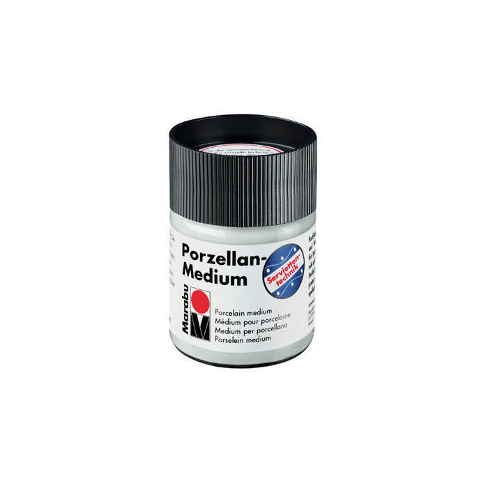 Marabu Porzellan-Medium, 50 ml PREISHIT