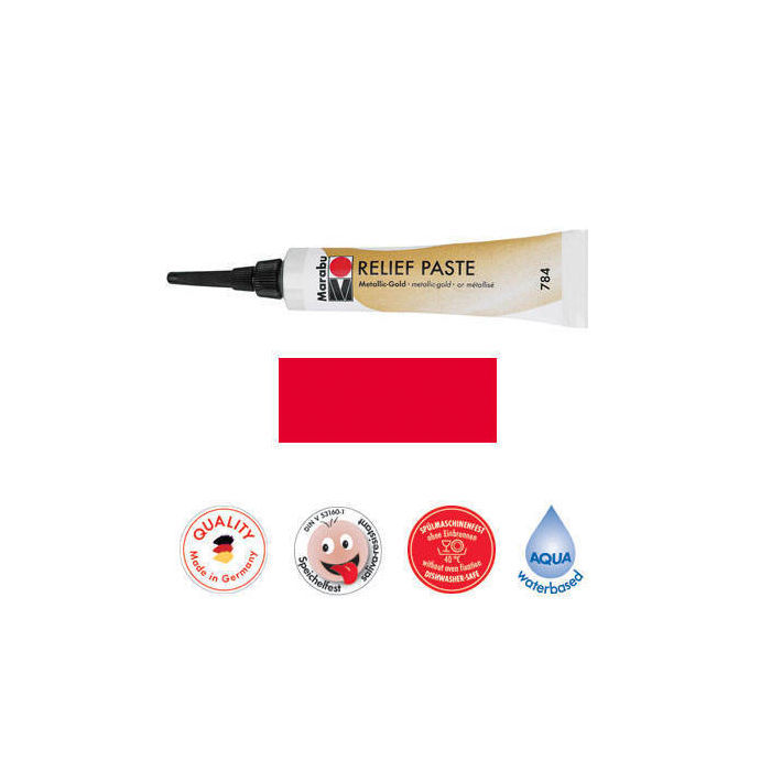 Marabu Relief-Paste Kirsche 20 ml