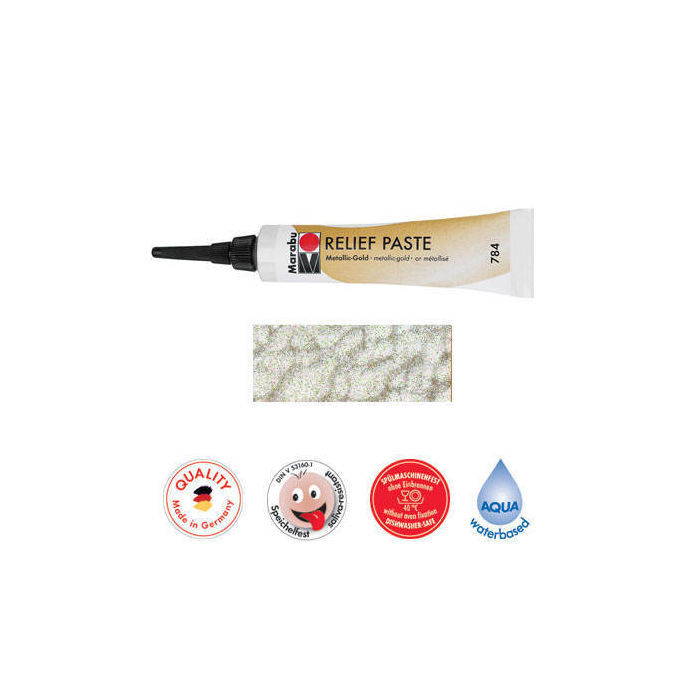 Marabu Relief-Paste Glitter-Opal 20 ml