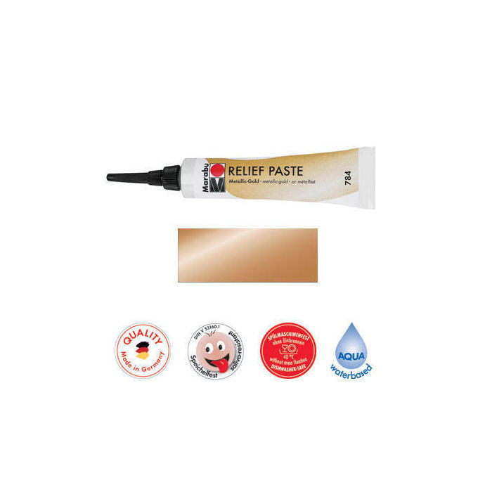 Marabu Relief-Paste Metallic-Kupfer 20 ml