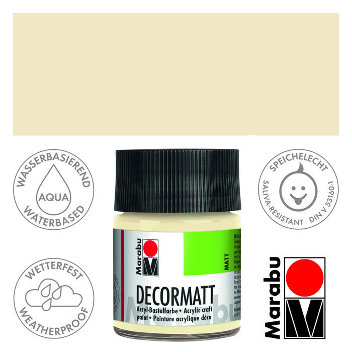 Marabu Decormatt 50ml Beige