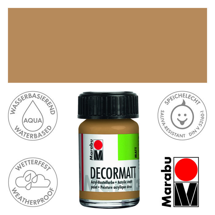 Marabu Decormatt 15ml Sand